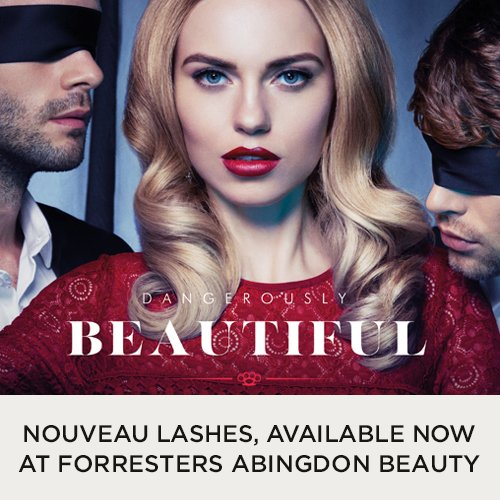 Nouveau Lashes available now at Forresters Abingdon Beauty Salon