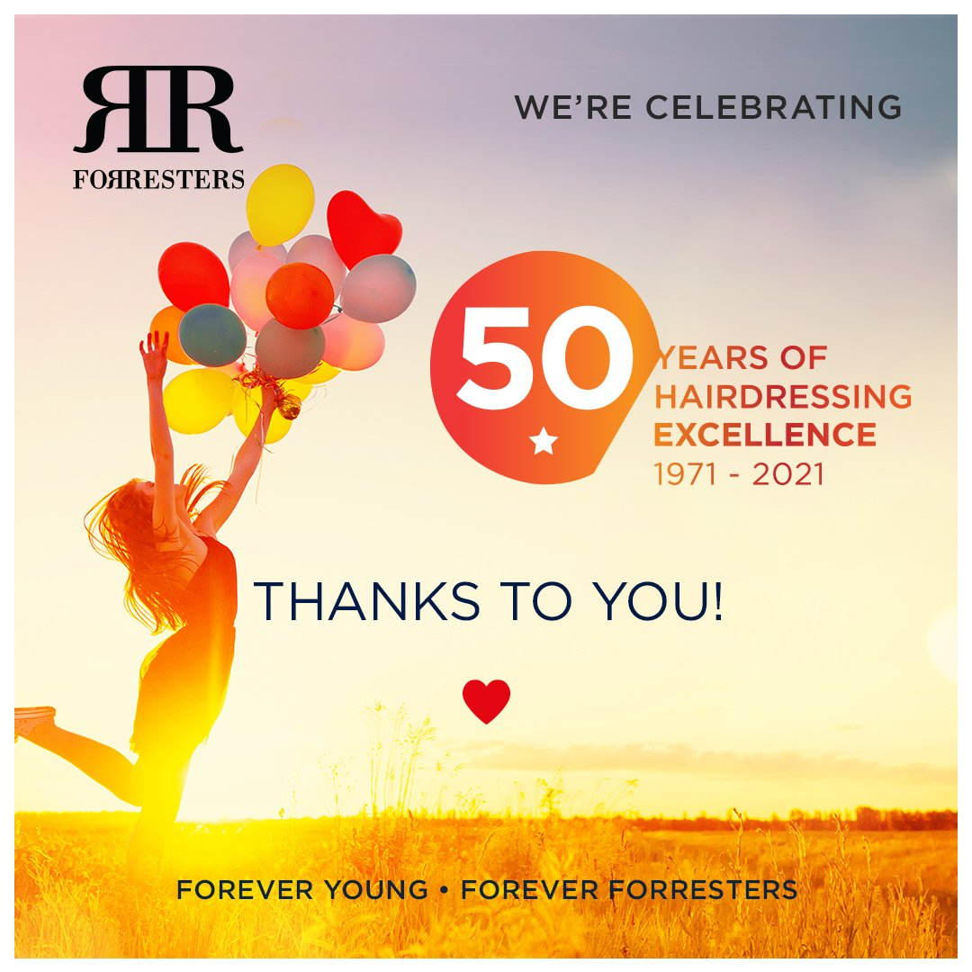 Forresters is 50!