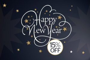 Our gift to you – 15% off in February