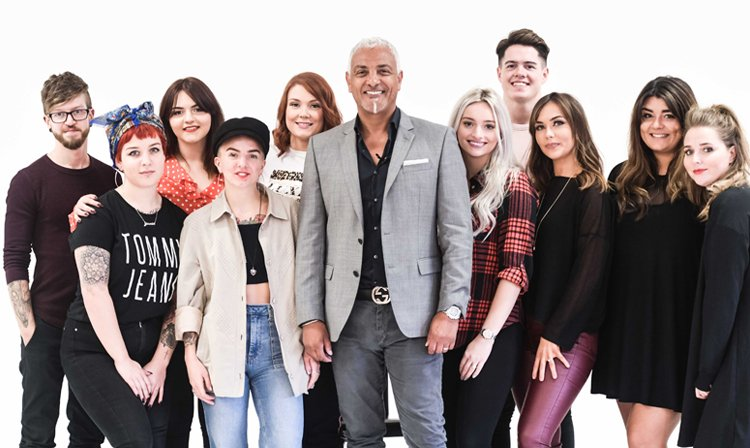 TIGI Inspirational Youth programme 2018 - Adam West from Forresters Sonning Common hair salon