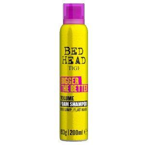 Bed Head Bigger The Better foam shampoo