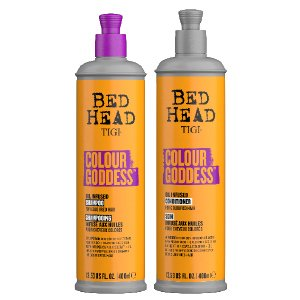 Bed Head Colour Goddess shampoo and conditioner helps to keep hair soft and looking healthy