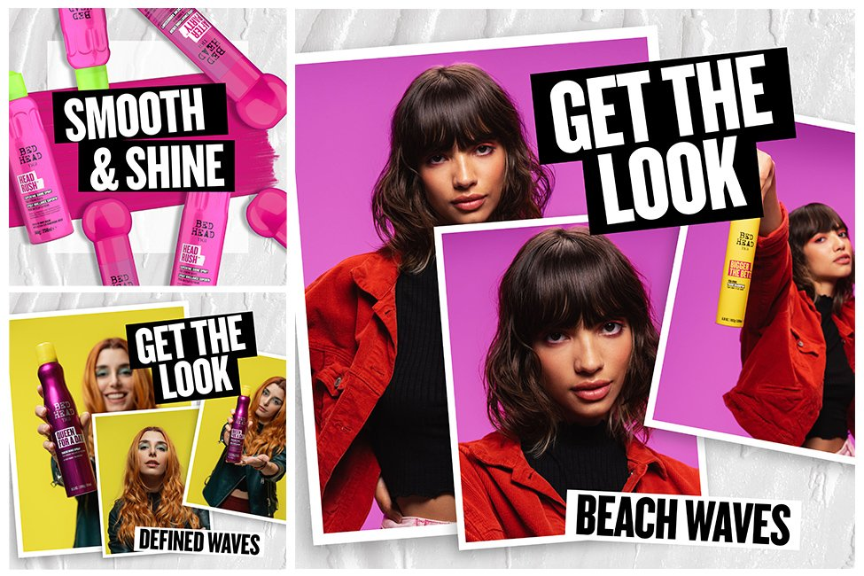 bed head by TIGI the ultimate rebel hair product range to keep your hair radical