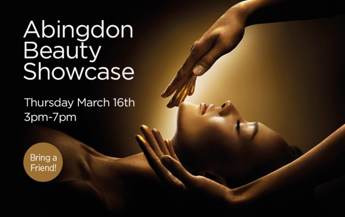 Join us at the Abingdon Beauty salon showcase march 16th 2017