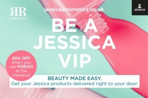 20% off Jessica products at jessicacosmetics.co.uk