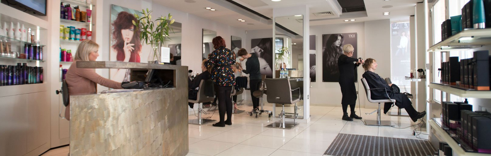 Forresters pangbourne hair salon interior picture
