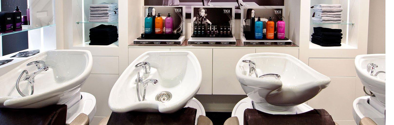 Pangbourne hair salon back wash luxury units