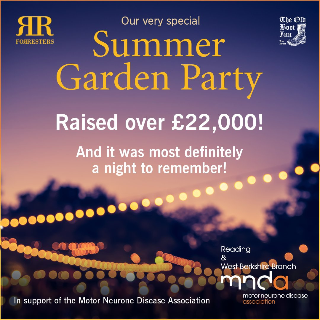 Wow! You helped us to raise over £22,000 at our Summer Garden Party!