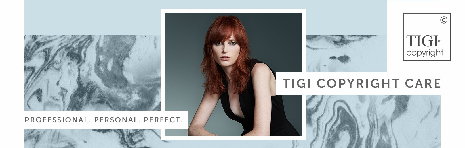TIGI Copyright Care available now at Forresters Hair Salons Jemma