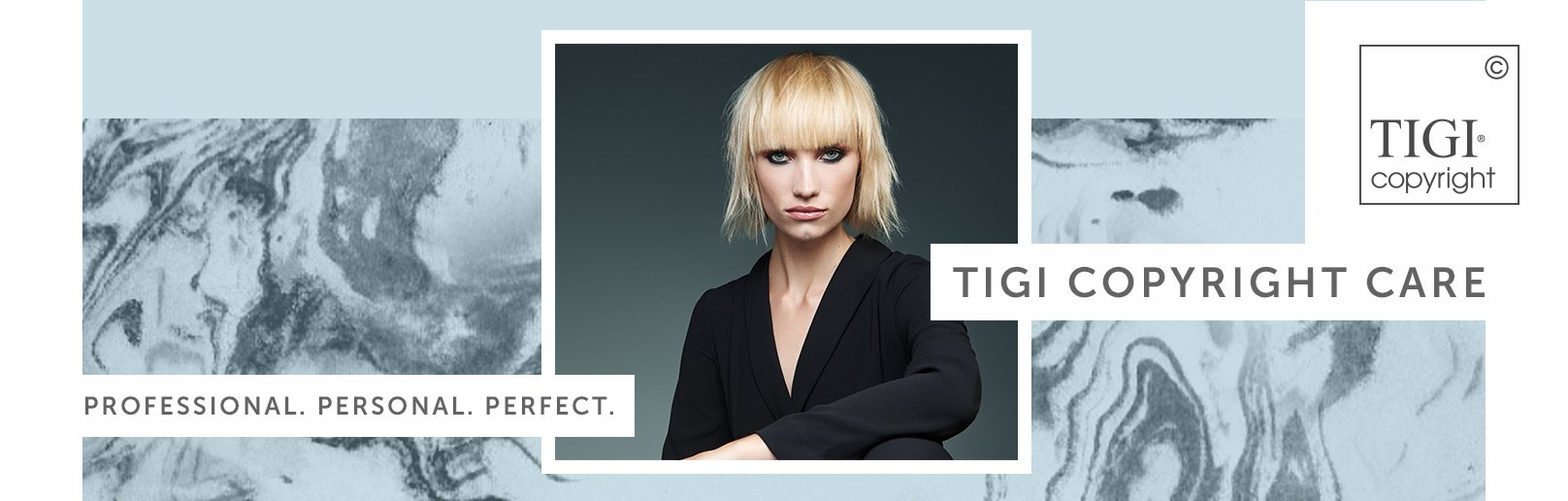 TIGI Copyright Care available now at Forresters Hair Salons Joanna