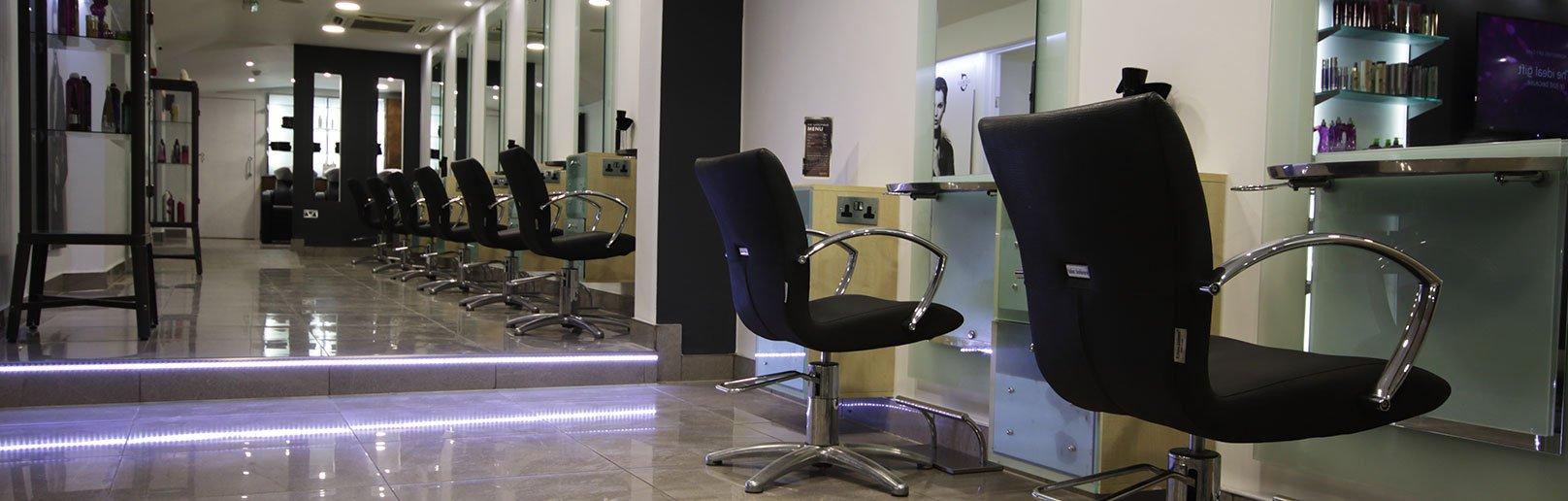 Forresters Thatcham hair salon stylish new interior