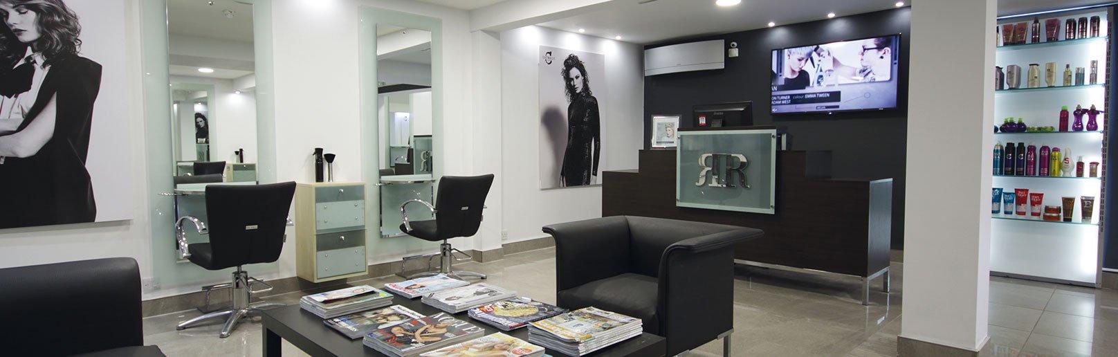 Forresters Thatcham hair salon Reception