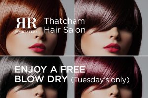Enjoy a Free Blow Dry on Treatment Tuesdays at Forresters Thatcham