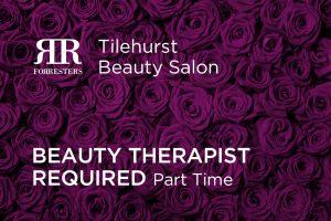 Beauty Therapist Required – Forresters Tilehurst Beauty Salon