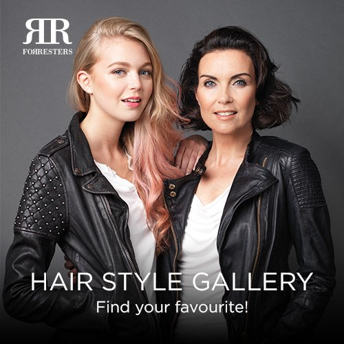 NEW! Forresters Hair Style Gallery