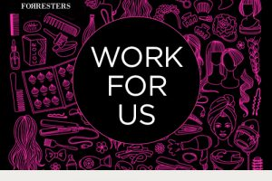 Work for the Forresters Group of Hair Salons