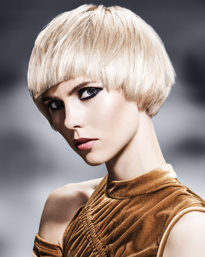 Gemima - cool blonde short bob hair style from the Forresters Special Effects Collection
