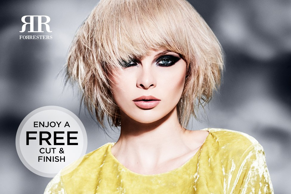 New Cut and Finish Loyalty Card in all Forresters Hair Salons now