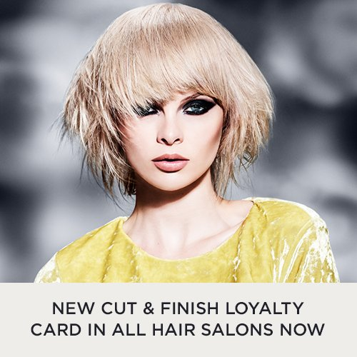 Grab a Forresters Loyalty Card, in the hair salons now. There's one with your name on it!