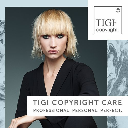 Introducing TIGI Copyright Care – Professional. Personal. Perfect.