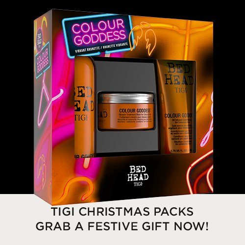 TIGI christmas gift packs now available in all Forresters hair salons