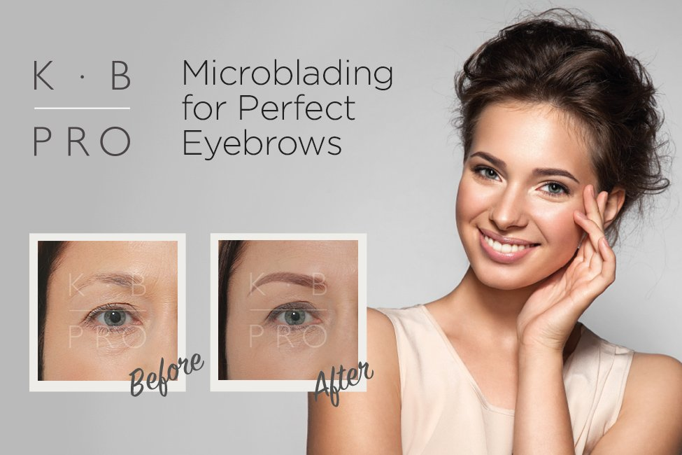 Microblading available now at the Forresters Abingdon Beauty salon
