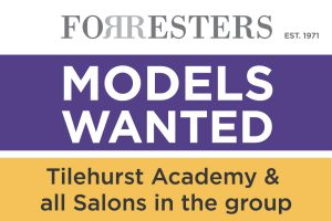 Models wanted at the Forresters Training Academy