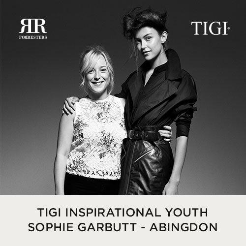 TIGI Inspirational Youth Sophie Garbutt shows her talent at the Café De Paris