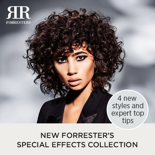 The Forresters Special Effects Collection – 4 new styles and how to achieve them