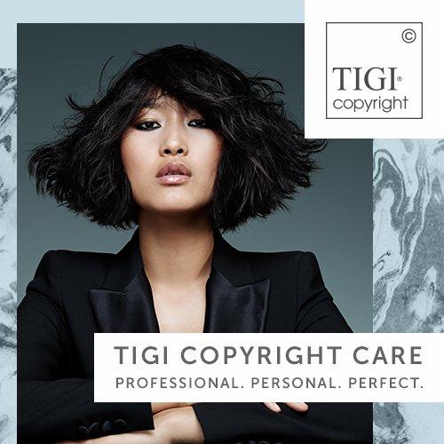 Introducing TIGI Copyright Care – Professional. Personal. Perfect.