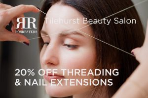 20% off threading and GELeration nail extensions in June