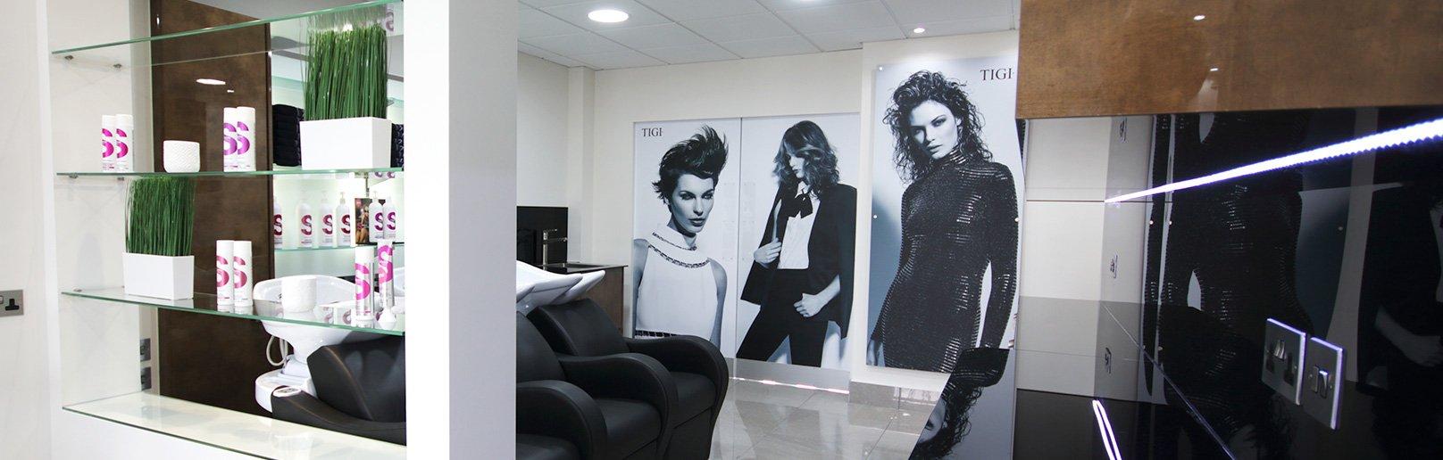 Forresters Tilehurst hair salon interior 3