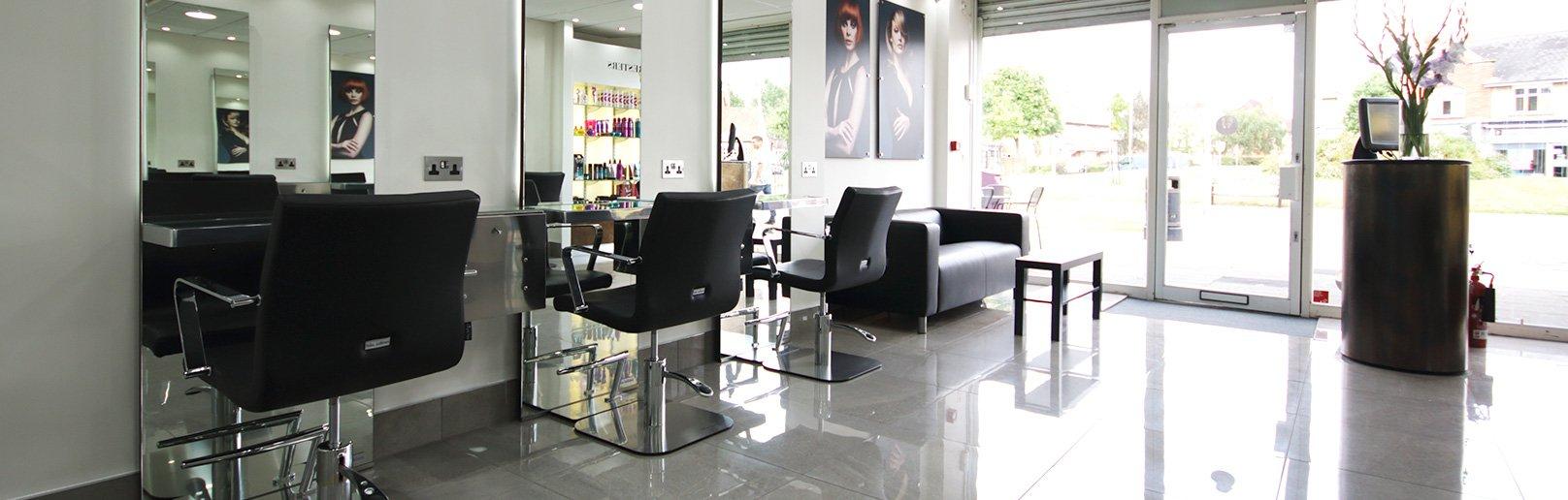 Forresters Tilehurst hair salon interior 6