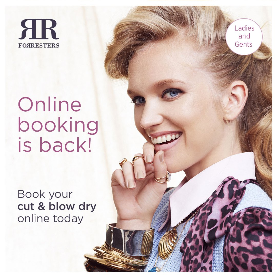 Online Booking is back!